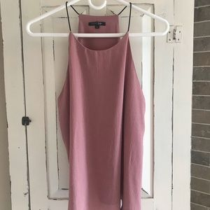 Paper Moon Blush Tank With Elastic Straps